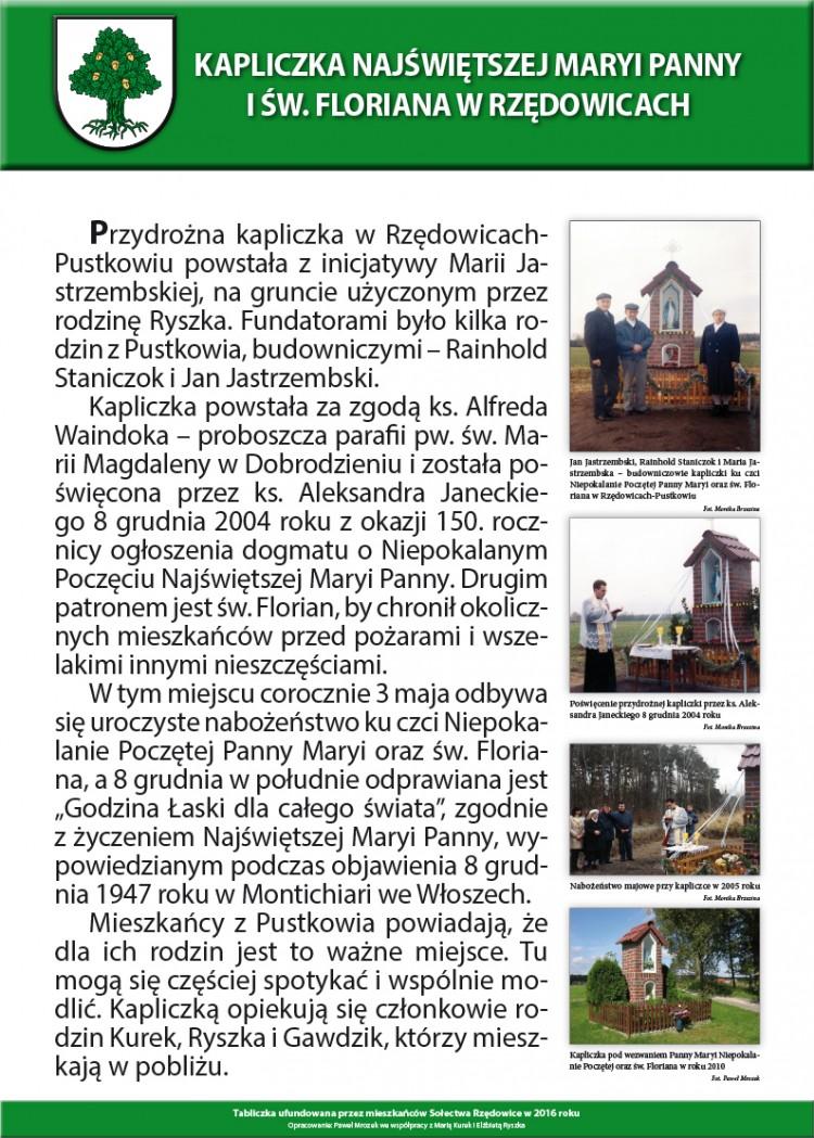 Rzędowice-Kapliczka NMP