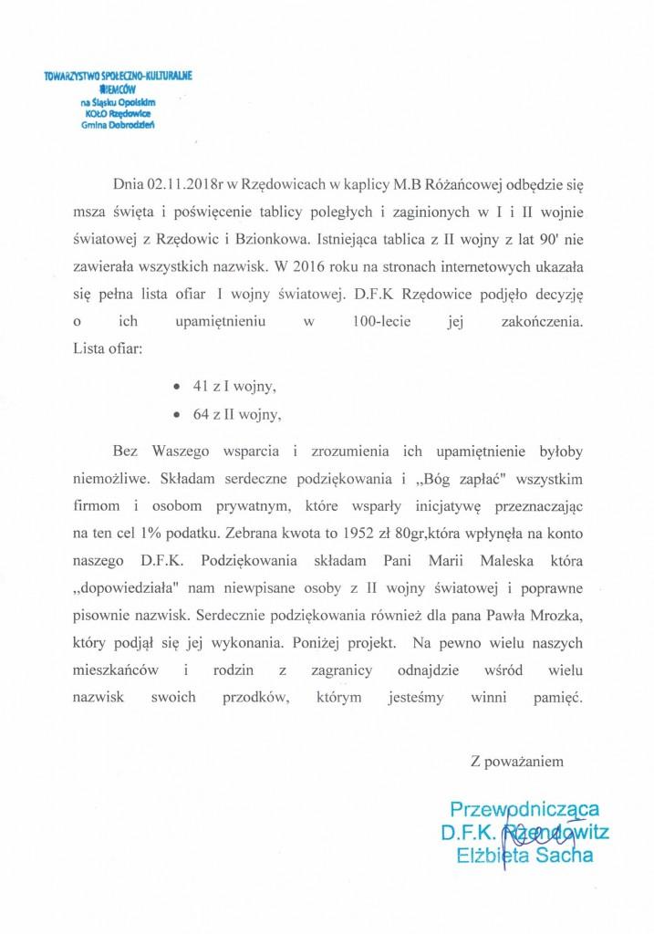 pismo po polsku